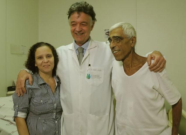 Andrea Cavalcanti e Horácio Calil  (Foto: Moema França/G1)