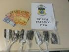 Jovem é preso por tráfico de drogas no Eucaliptal, em Volta Redonda, RJ