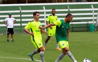 Emprestado pelo Goiás ao Bota-SP, Ramires reencontra Márcio Fernandes
