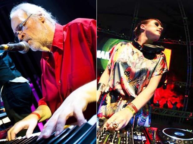 Lincoln Olivetti e sua filha, Mary Olivetti. A DJ vai homenagear o pai no Rock in RIo 2015 (Foto: Divulgação)