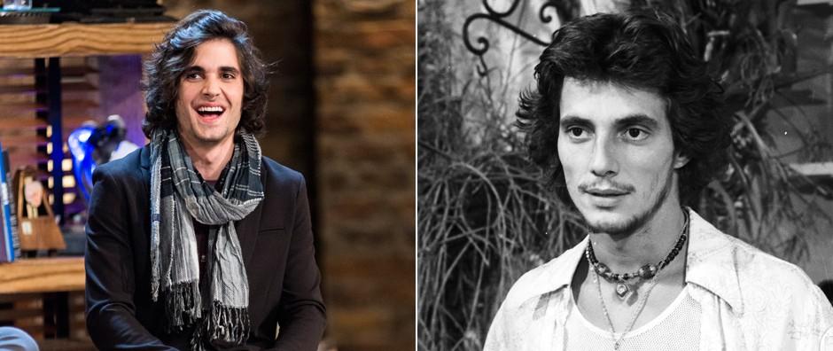 Nos 24 anos de Fiuk, compare Fábio Jr. e o filho com a mesma idade (Vídeo Show / TV Globo)