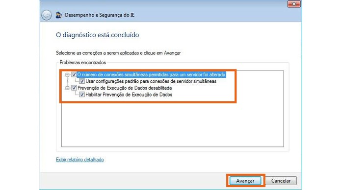 Observe o relatório de erros do navegador (Foto: Reprodução/Barbara Mannara)