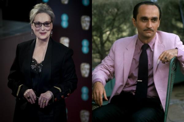 Meryl Streep e John Cazale (Foto: Getty Images/Divulgação)