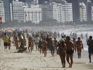 Praia de Copacabana (Foto: Alê Silva/Futura Press/Estadão Conteúdo)