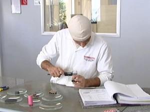 Fogos passam por uma série de testes  (Foto: Reprodução/Tv Integração)
