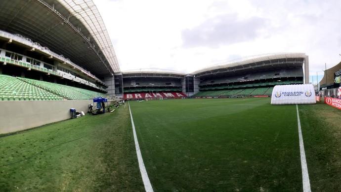 Independência - América-MG x Fluminense (Foto: Edgard Maciel de Sá/ Globoesporte.com)