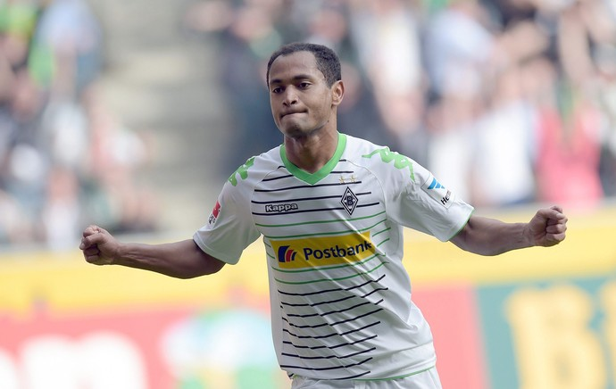 raffael Borussia Moenchengladbach x hamburgo (Foto: EFE)