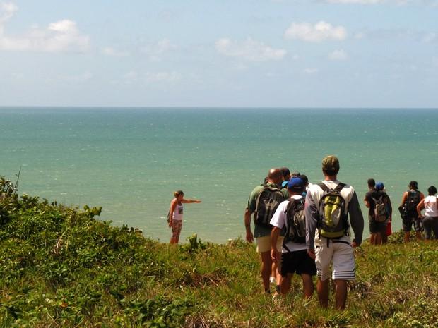 Caminhadas ecológicas exploram as belezas das praias do Conde, na Paraíba. (Foto: Setur Conde/ Vanessa de Lima)