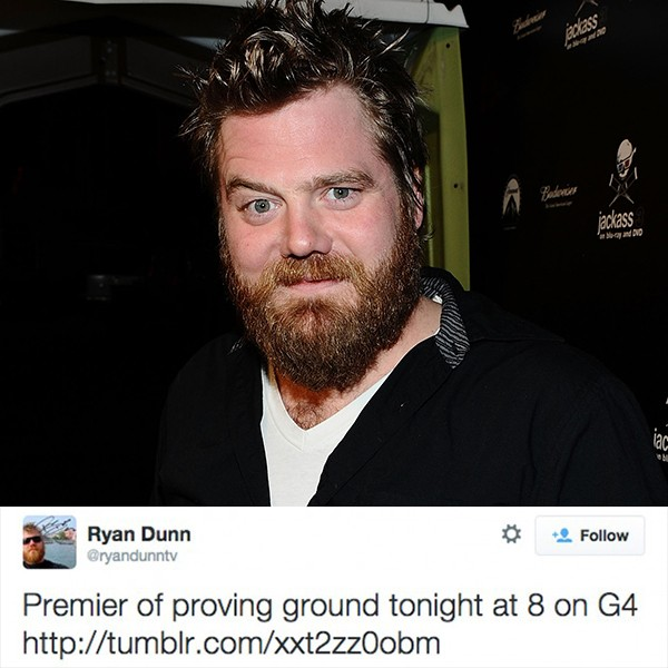 Ryan Dunn (Foto: Getty Images/Twitter)