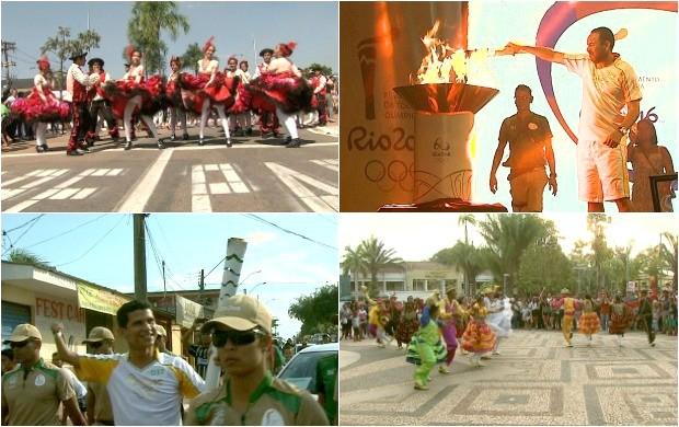 População de Rio Branco recebeu Tocha Olímpica com festa, atrações e emoção (Foto: Bom Dia Amazônia)