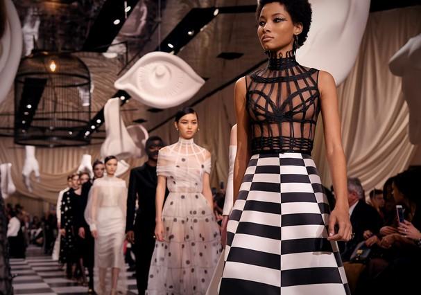 Dior alta costura verão 2018 (Foto: Getty Images)