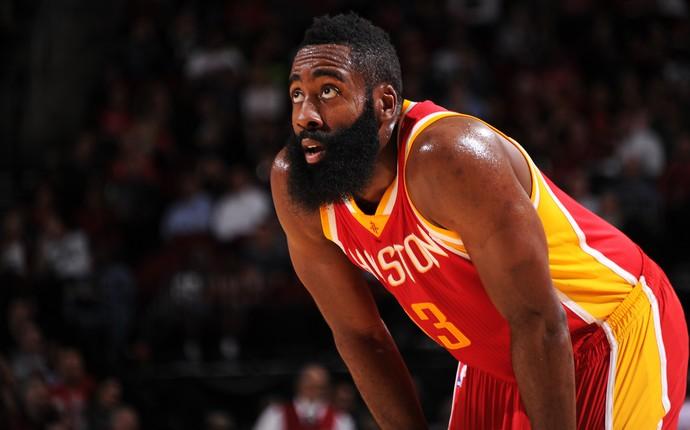 James Harden, Rockets x Spurs NBA (Foto: Getty)