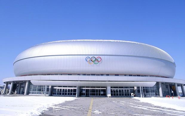 Estádio Olímpico de Nagano, no Japão (Foto: Getty Images)