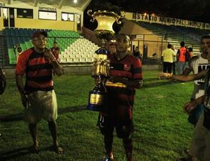 Fabinho, atacante do Flamengo-PI (Foto: Renan Morais)