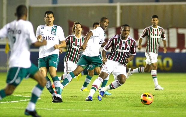 Digão, Fluminense e goias  (Foto: Agência Photocamera)
