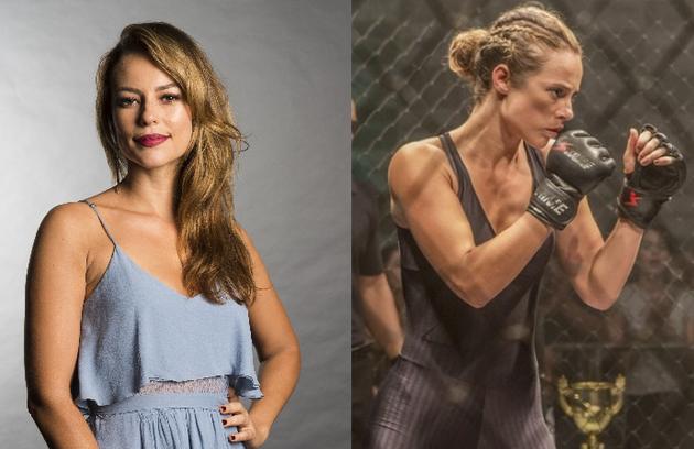 Paolla Oliveira, que será a policial Jeiza, vai aparecer usando muitas trancinhas na novela de Gloria Perez. Sua personagem sonha em se tornar lutadora de MMA (Foto: TV Globo)