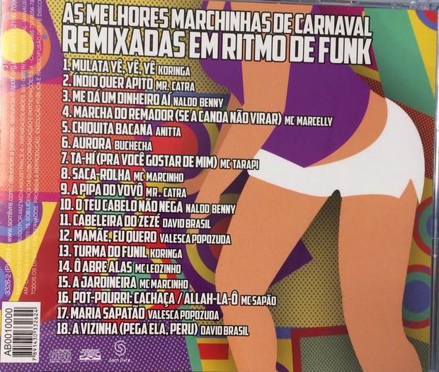 CD de marchinha de carnaval de David Brazil (Foto: Divulgação)
