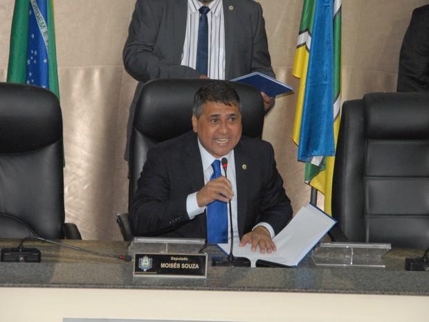 Moisés Souza, deputado estadual do Amapá (Foto: Gabriel Penha)