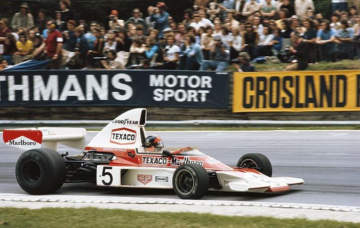Emerson Fittipaldi GP da Inglaterra de 1974