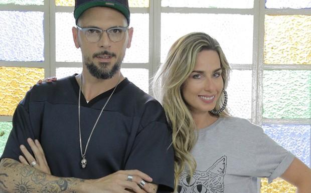 Mariana Weickert e Ricardo dos Anjos SOS Salvem o Salo (Foto: Divulgao)