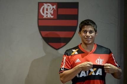 Conca apresentação Flamengo (Foto: Agência Estado)