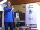 Jorge Pozzobom vota no segundo turno em Santa Maria, no RS