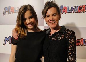 Alice Wegmann tem uma relação super aberta com a mãe (Foto: Malhação / Tv Globo)