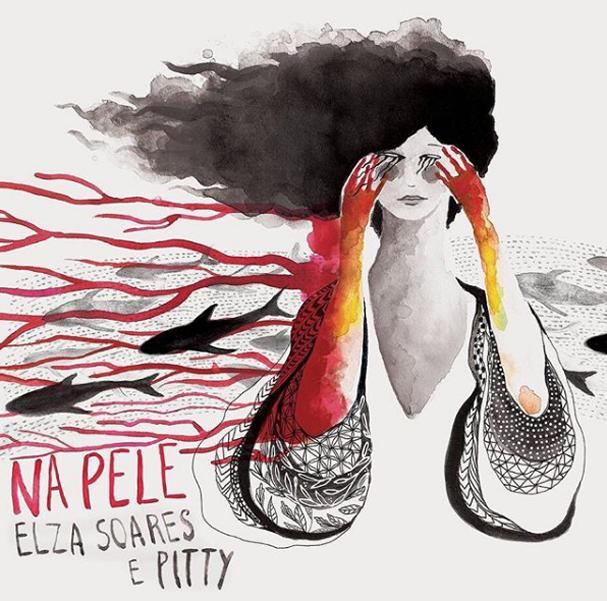"""Capa do single """"Na Pele"""" (Foto: divulgação)"""