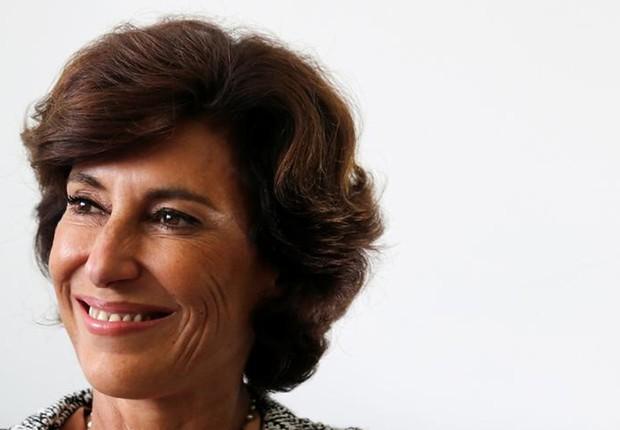 A presidente do Banco Nacional de Desenvolvimento Econômico e Social (BNDES), Maria Silvia Bastos Marques, durante entrevista  (Foto: Sergio Moraes/Reuters)