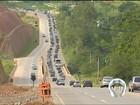 Trânsito é tranquilo nas principais rodovias do Vale do Paraíba