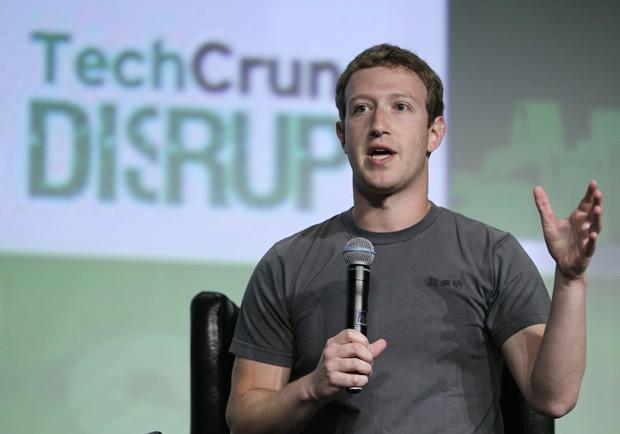 Mark Zuckerberg, em entrevista concedida em San Francisco (Foto: Eric Risberg/AP)