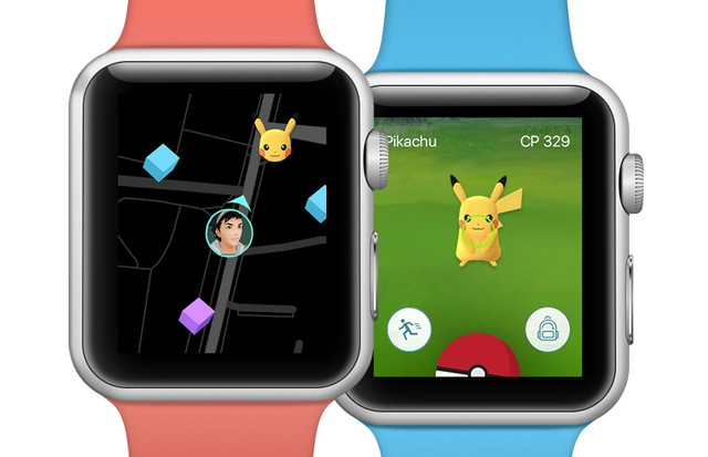 Pokemón Go no Apple Watch (Foto: Divulgação)