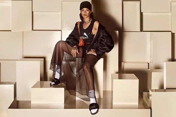 O chinelo-sensação da coleção de Rihanna para Puma  (Foto: Divulgação)