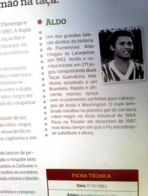Ex-jogador Aldo, campeão brasileiro pelo Fluminense em 1984, agora é técnico de time Sub-20 no Amapá (Foto: Gabriel Penha/GE-AP)