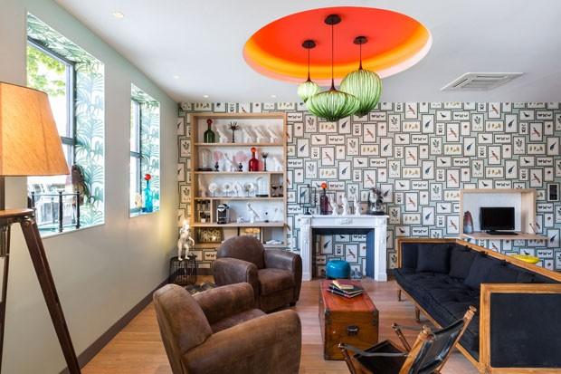 Hotel inspirado em botânica e navegação (Foto: Divulgação)