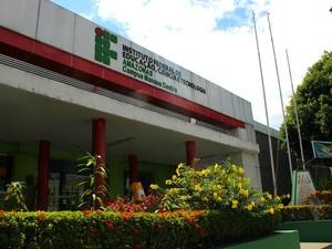Instituto Federal de Educação, Ciência e Tecnologia do Amazonas (IFAM), situado na Avenida Sete de Setembro, Zona Sul de Manaus (Foto: Luis Henrique Oliveira/G1 AM)