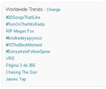 Megan Fox twitter (Foto: Twitter/Reprodução)