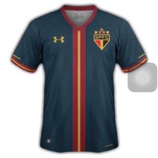 Terceiro uniforme São Paulo gol (Foto: Divulgação)