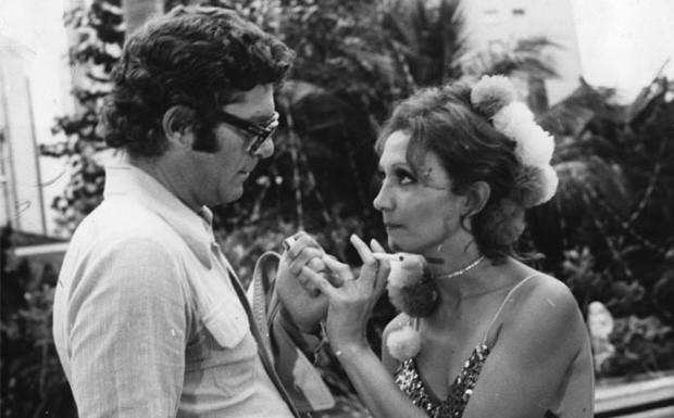 Carlos Zara e Eva Wilma na primeira versão de
