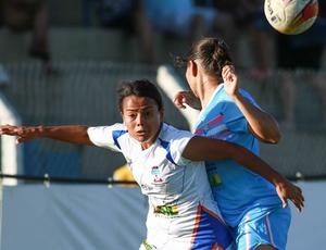 Futebol feminino Ufal Copa Universitária (Foto: Luiz Pires/Fotojump)