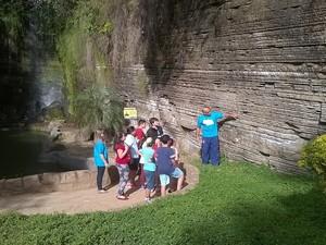 Parque atrai turistas, estudantes e pesquisadores brasileiros e estrangeiros (Foto: Daniel Assis de Alcântara / Prefeitura de Itu)