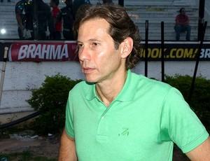 Gustavo Dubeux, presidente do Sport, em São Januário (Foto: Vicente Seda / Globoesporte.com)