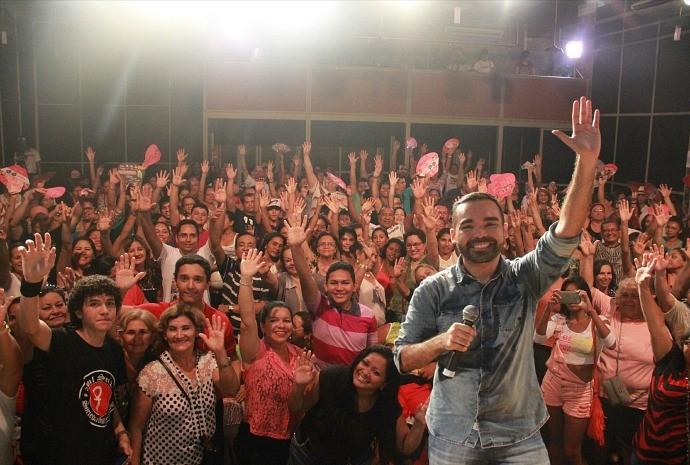 Animação não faltou ao público prestigiou o evento  (Foto: Katiúscia Monteiro/ Rede Amazônica)