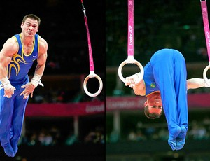 Arthur Zanetti na prova de argola ginástica  (Foto: Reuters)