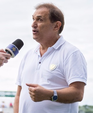 Marco Chedid e Luiz Chedid presidente Bragantino (Foto: Rafael Moreira / C.A. Bragantino)