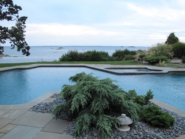 Casa vendida por R$ 266 milhões nos EUA tem piscina de 22 metros (Foto: Divulgação / David Ogilvy and Associates)