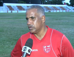 Ademir Fonseca CRB (Foto: Reprodução/TV Gazeta)