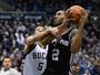Leonard faz a diferença para os Spurs, e Miami vence jogão contra os Pacers