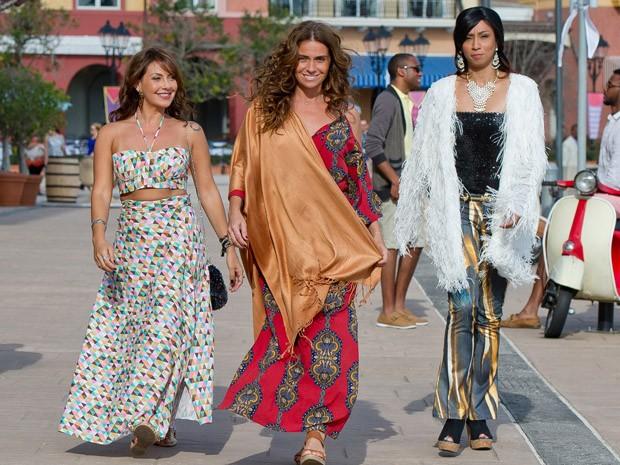 Fabiula Nascimento, Giovanna Antonelli e Thalita Carauta em 'S.O.S Mulheres ao mar 2' (Foto: Divulgação)