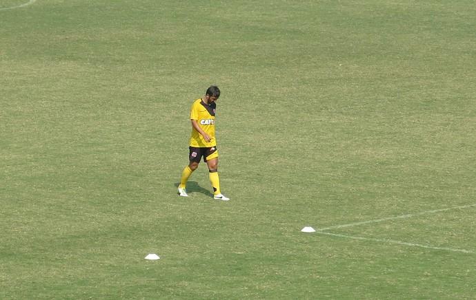 Douglas treino Vasco (Foto: Raphael Zarko)
